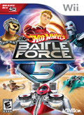 US Boxshot of Hot Wheels Battle Force 5 (NINTENDO Wii)