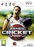 UK Boxshot of Ashes Cricket 2009 (NINTENDO Wii)