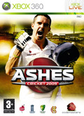 UK Boxshot of Ashes Cricket 2009 (XBOX360)