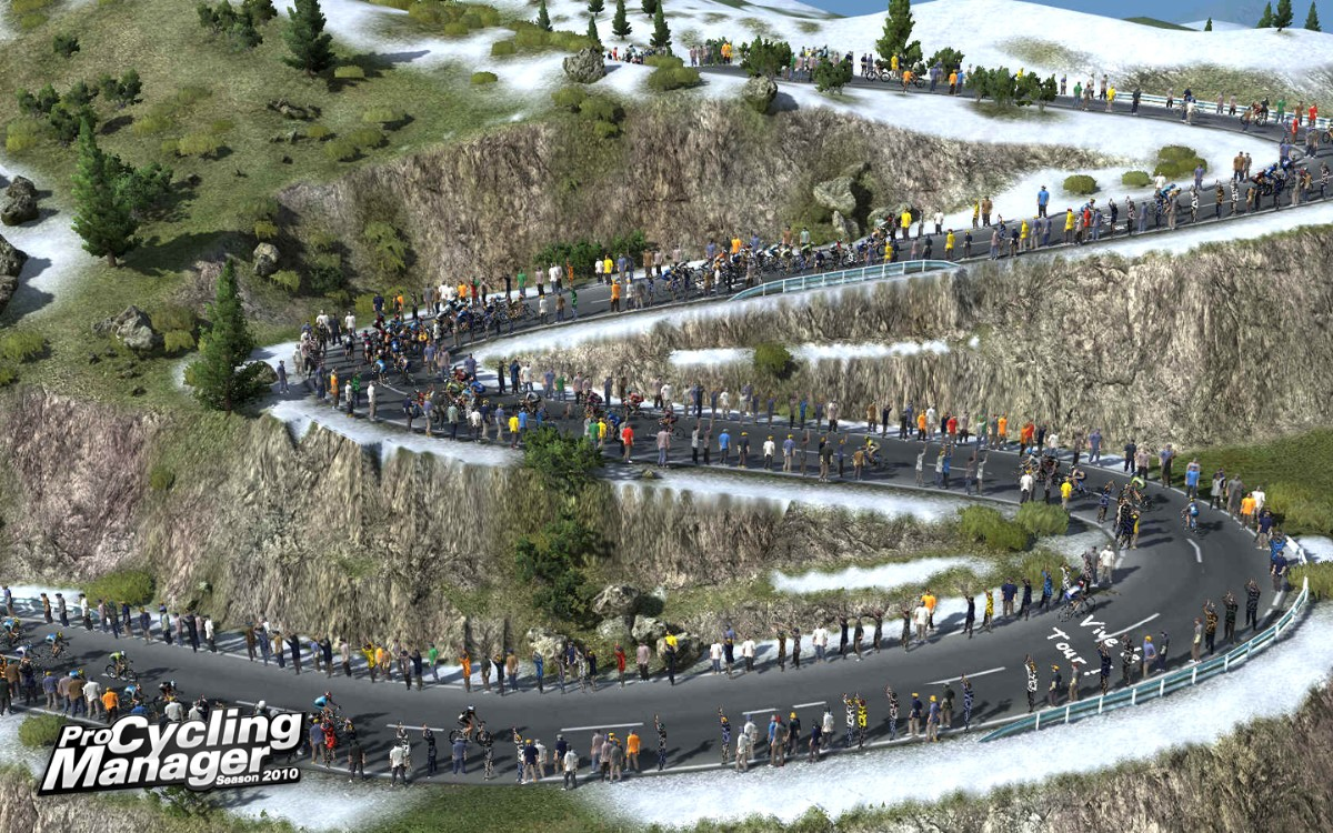 Screenshot of Pro Cycling Manager 2010 (PC)