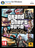 UK Boxshot of Grand Theft Auto: Episodes from Liberty City (PC)