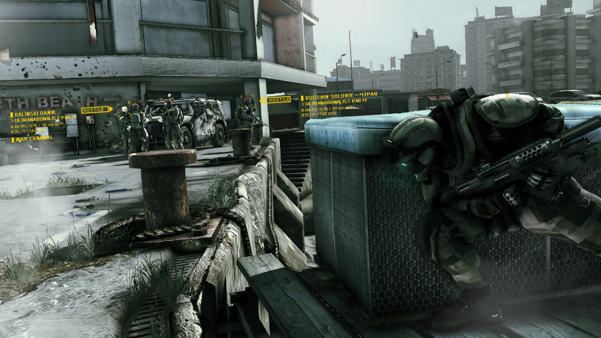 screen6 large Tom Clancys Ghost Recon PAL [ Wii ]