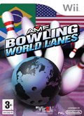 UK Boxshot of AMF Bowling World Lanes (NINTENDO Wii)
