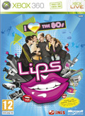 UK Boxshot of Lips: I Love The 80s (XBOX360)