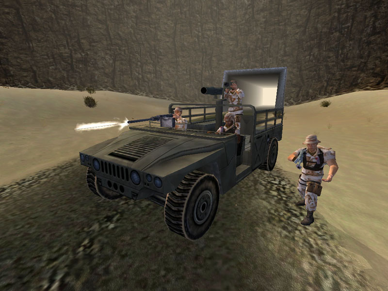 Screenshot of Conflict: Desert Storm (PC)