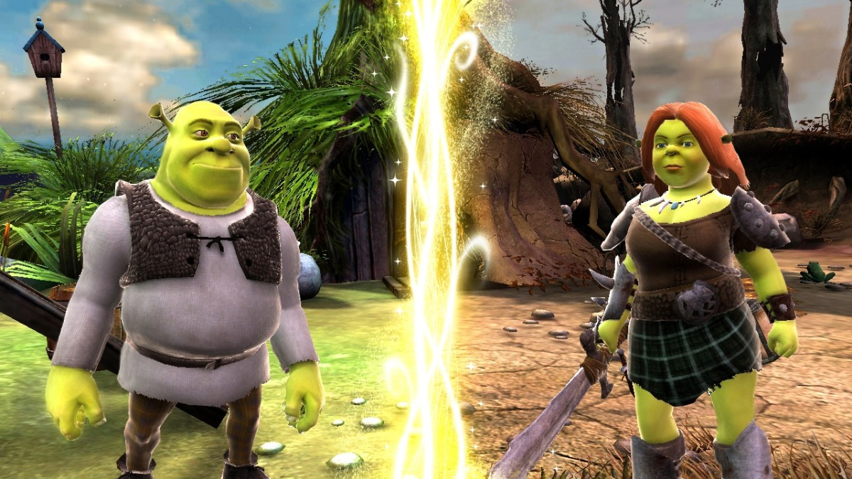 Screenshot of Shrek Forever After (NINTENDO Wii)