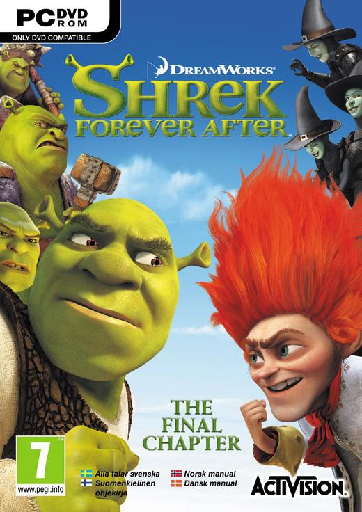 Descargar Shrek Forever After  PC DVD  English