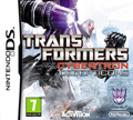 UK Boxshot of Transformers: War for Cybertron - Decepticons (DS)