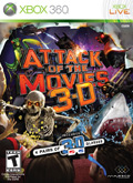 US Boxshot of Attack of the Movies 3D (XBOX360)