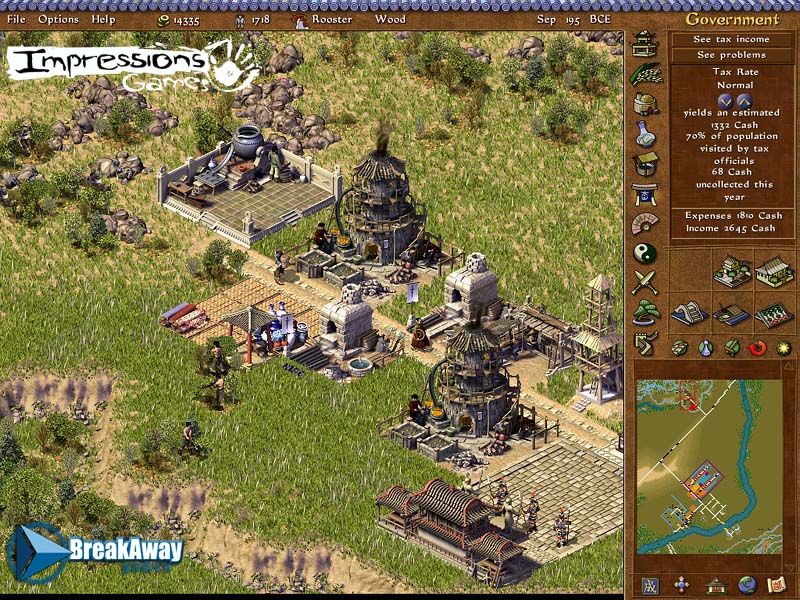 screen2 large Emperor: Rise of the Middle Kingdom PC Download