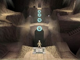 Screenshot of The Last Airbender (DS)