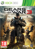 UK Boxshot of Gears of War 3 (XBOX360)