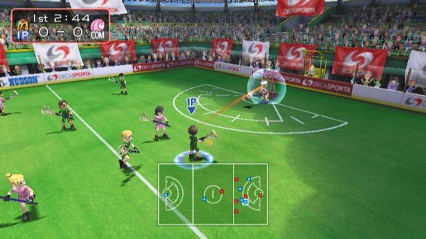 Screenshot of Sports Fest (NINTENDO Wii)