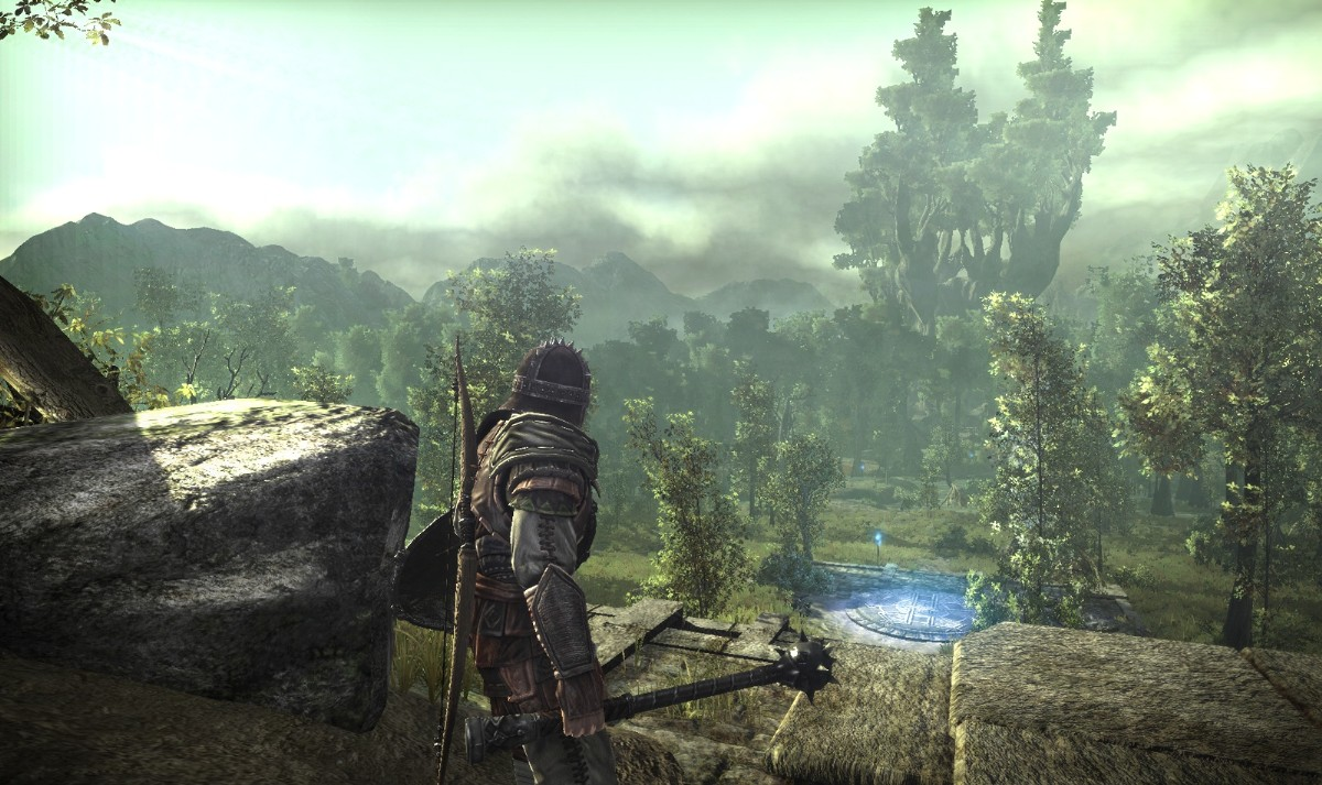 Screenshot of Arcania: Gothic 4 (XBOX360)