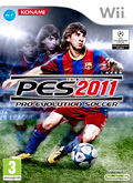 UK Boxshot of Pro Evolution Soccer 2011 (NINTENDO Wii)