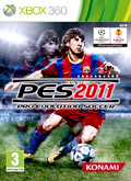 UK Boxshot of Pro Evolution Soccer 2011 (XBOX360)