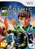 UK Boxshot of Ben 10: Ultimate Alien - Cosmic Destruction (NINTENDO Wii)