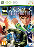 UK Boxshot of Ben 10: Ultimate Alien - Cosmic Destruction (XBOX360)