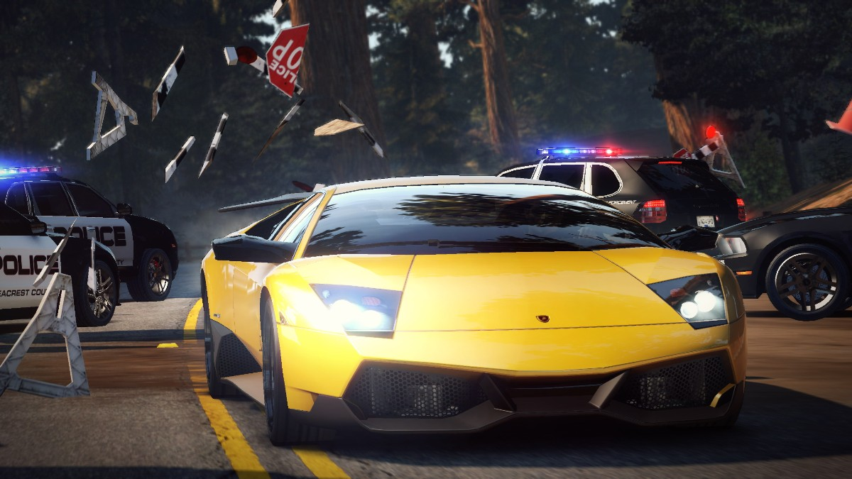 Screenshot of Need for Speed Hot Pursuit (PS3)