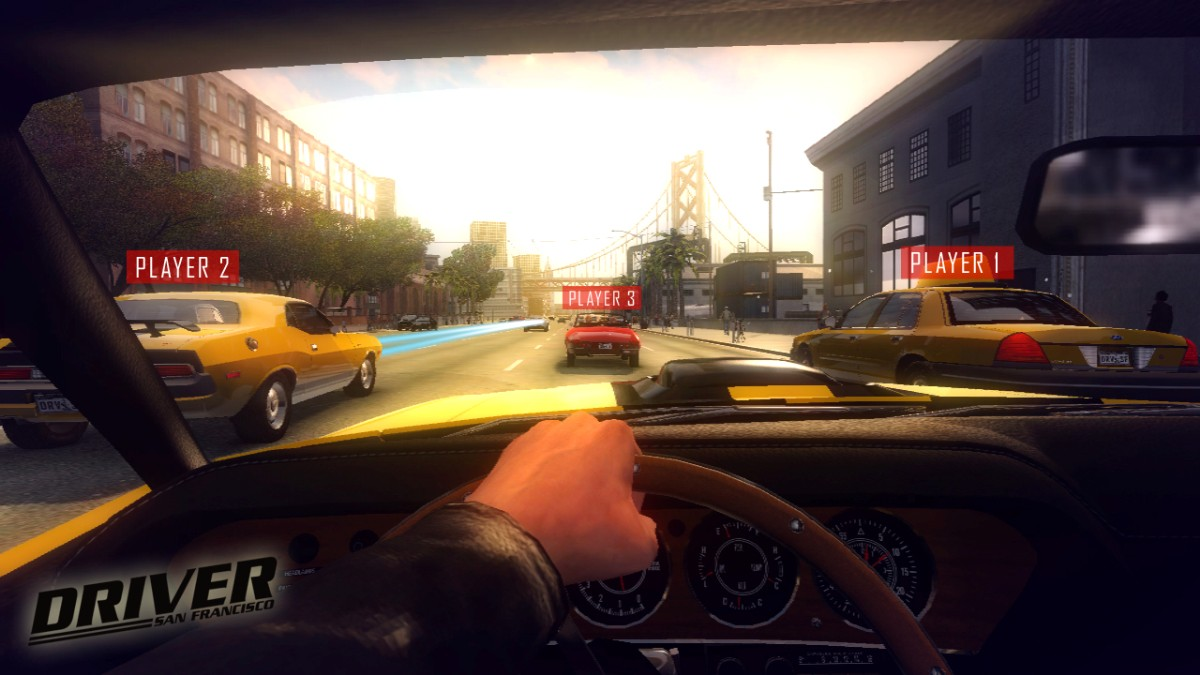 Screenshot of Driver San Francisco (XBOX360)