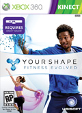 US Boxshot of Your Shape: Fitness Evolved (XBOX360)