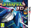 UK Boxshot of StarFox 64 3D (3DS)