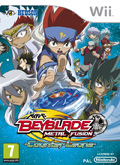 UK Boxshot of Beyblade: Metal Fusion (NINTENDO Wii)