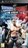 UK Boxshot of WWE SmackDown! vs. RAW 2011 (PSP)