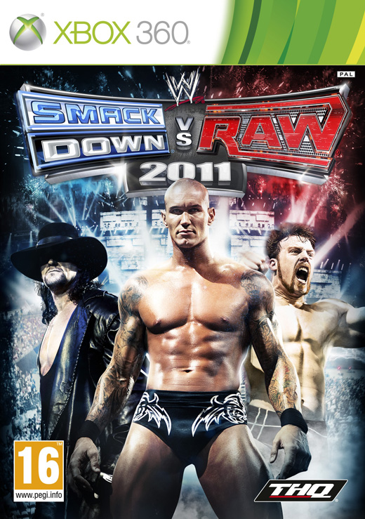 WWE SmackDown vs. Raw 2011 (2010) Xbox Ps3 Ps4 Pc jtag rgh dvd iso Xbox360 Wii Nintendo Mac Linux
