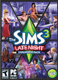 US Boxshot of The Sims 3: Late Night (PC)
