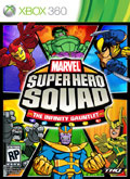 US Boxshot of Marvel Super Hero Squad: Infinity Gauntlet (XBOX360)