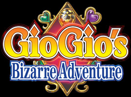 Logo of GioGio's Bizarre Adventure (PS2)