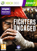 UK Boxshot of Fighters Uncaged (XBOX360)