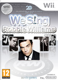 UK Boxshot of We Sing: Robbie Williams (NINTENDO Wii)