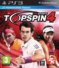 UK Boxshot of Top Spin 4 (PS3)