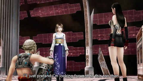 Screenshot of Dissidia 012: Final Fantasy (PSP)