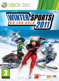 UK Boxshot of Winter Sports 2011: Go for Gold (XBOX360)
