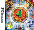 UK Boxshot of 4 Elements (DS)