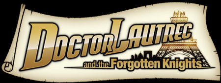Logo of Doctor Lautrec and the Forgotten Knights (3DS)