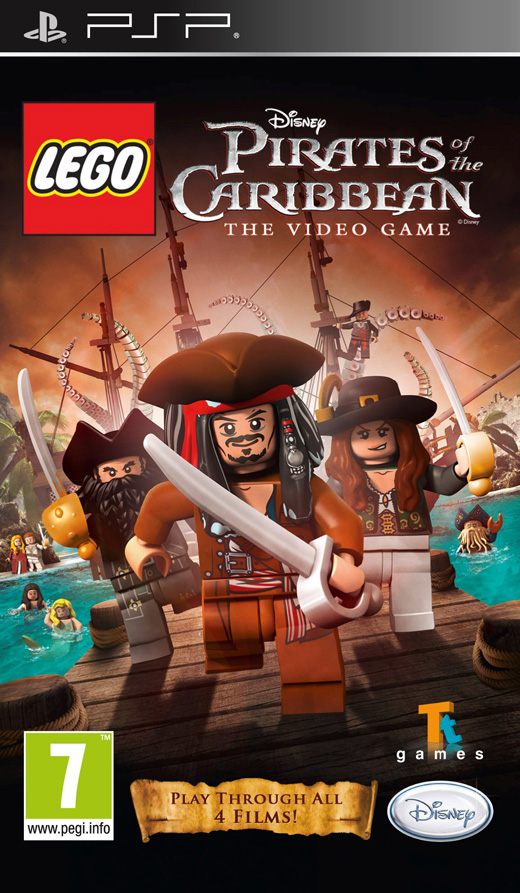 Lego Disney Pirates Of The Caribbean The Video Game USA PSP (exclue) [FS]