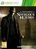 UK Boxshot of The Testament of Sherlock Holmes (XBOX360)