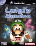 UK Boxshot of Luigi's Mansion (GAMECUBE)