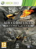 UK Boxshot of Air Conflicts: Secret Wars (XBOX360)