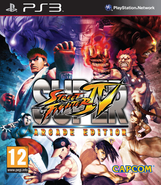 boxshot uk large Super Street Fighter IV | Arcade Edition [ PS3 ]
