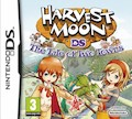 UK Boxshot of Harvest Moon: The Tale of Two Towns (DS)