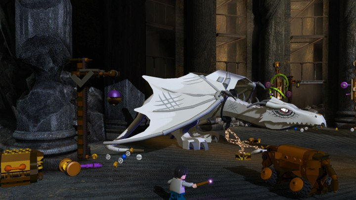 Screenshot of LEGO Harry Potter: Years 5-7 (PS3)