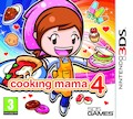 UK Boxshot of Cooking Mama 4 (3DS)