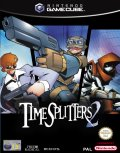 UK Boxshot of Timesplitters 2 (GAMECUBE)