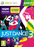 UK Boxshot of Just Dance 3 (XBOX360)