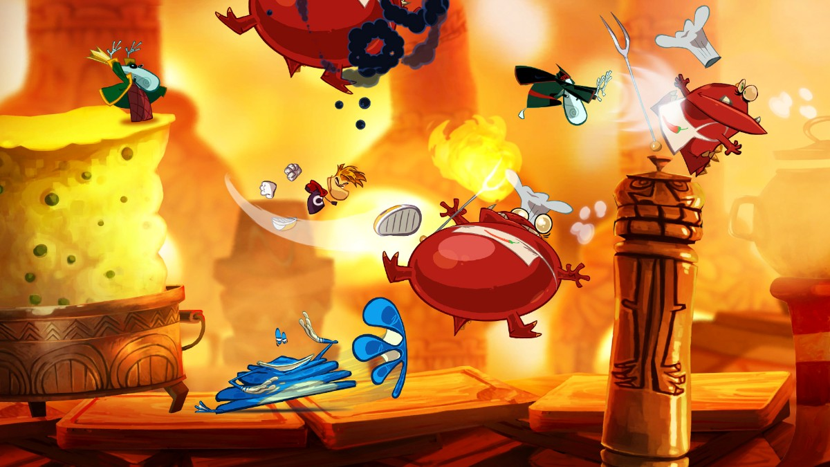 Screenshot of Rayman Origins (PS3)